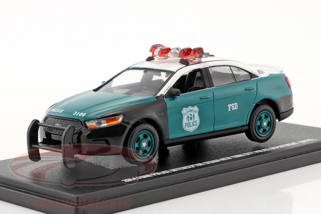 greenlight-1-43-ford-police-interceptor-sedan-nypd-anno-di-costruzione-2014-verde-bianco-86094/