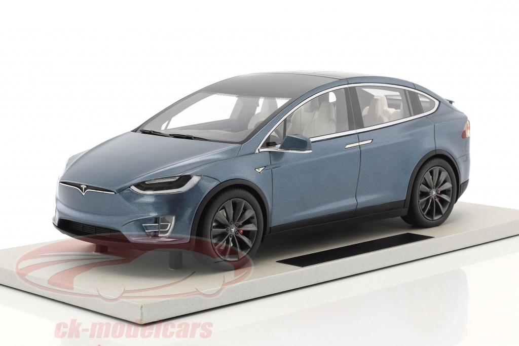 ls-collectibles-1-18-tesla-model-x-year-2016-blue-gray-metallic-ls030c/