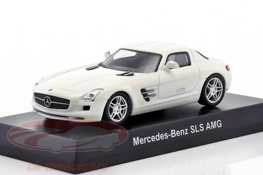 kyosho-1-64-mercedes-benz-sls-amg-white-ck46115/