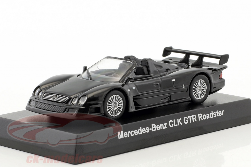 kyosho-1-64-mercedes-benz-clk-gtr-roadster-black-ck46117/