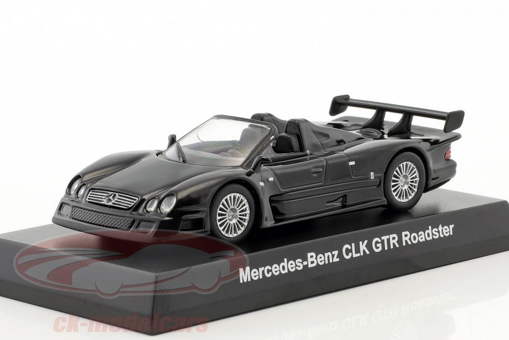 kyosho-1-64-mercedes-benz-clk-gtr-roadster-noir-ck46117/