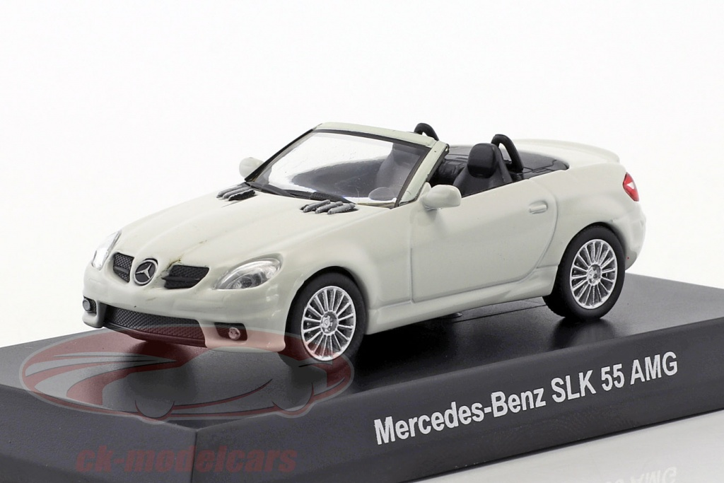 kyosho-1-64-mercedes-benz-slk-55-amg-cabriolet-white-ck46126/