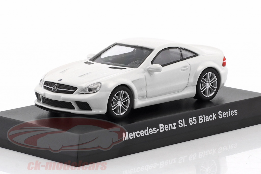 kyosho-1-64-mercedes-benz-sl-65-black-series-weiss-ck46125/