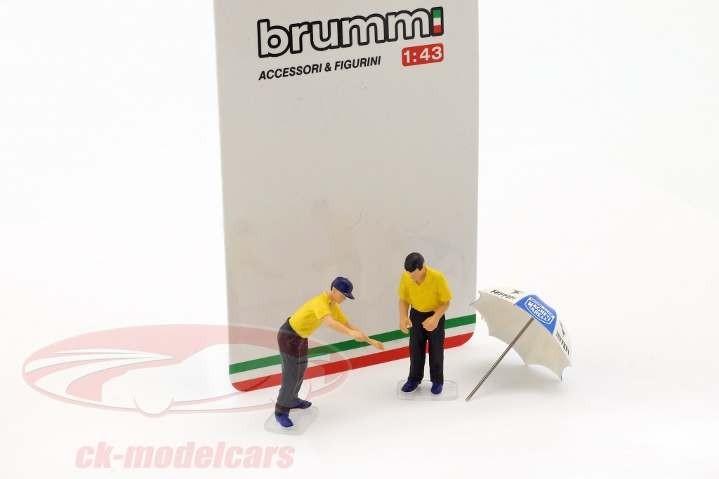 brumm-1-43-set-pit-stop-mechanics-with-umbrella-f098/