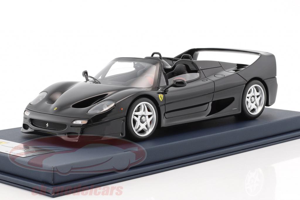 looksmart-1-18-ferrari-f50-spider-black-with-showcase-ls18fc05sc/