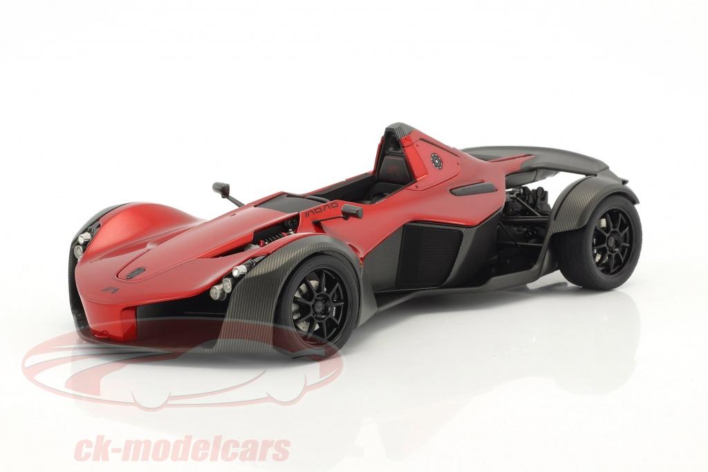 autoart-1-18-bac-mono-anno-2011-rosso-metallizzato-nero-18119/