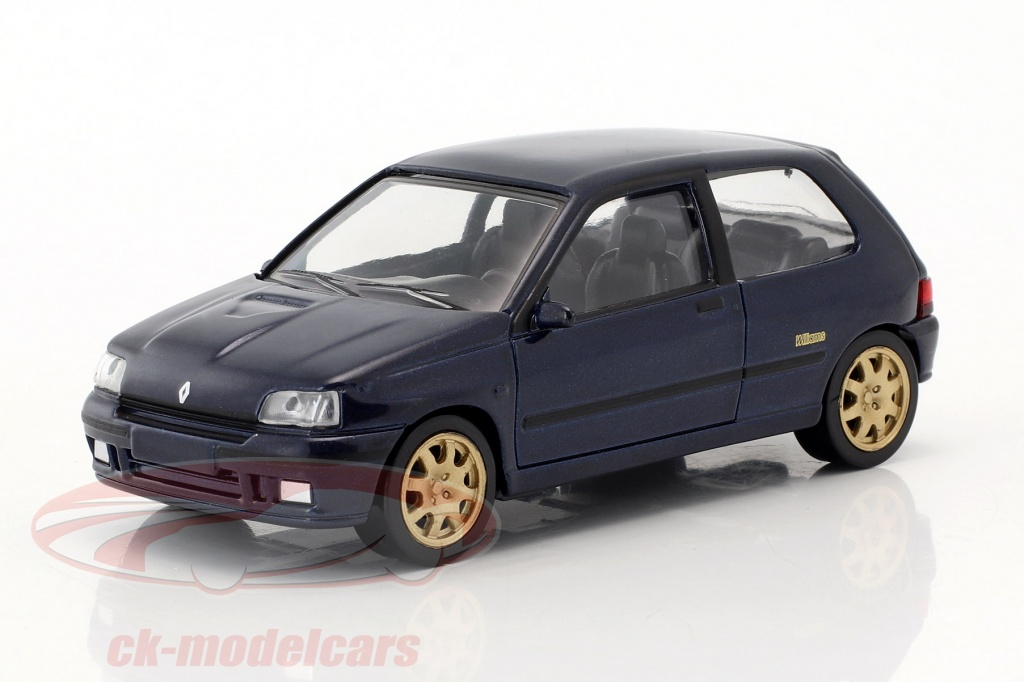 norev-1-43-renault-clio-williams-annee-de-construction-1993-jet-car-bleu-metallique-517522/