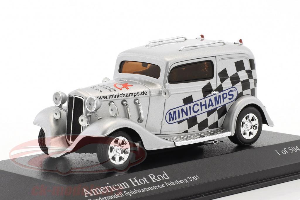 minichamps-1-43-american-hot-rod-special-edition-spielwarenmesse-nuernberg-2004-argento-ck46400/
