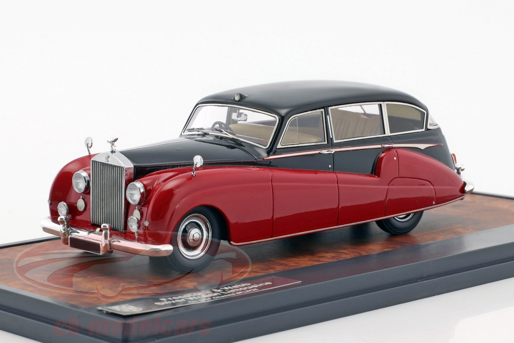 matrix-1-43-rolls-royce-freestone-webb-silver-wraith-limousine-year-1957-black-red-mx51705-251/