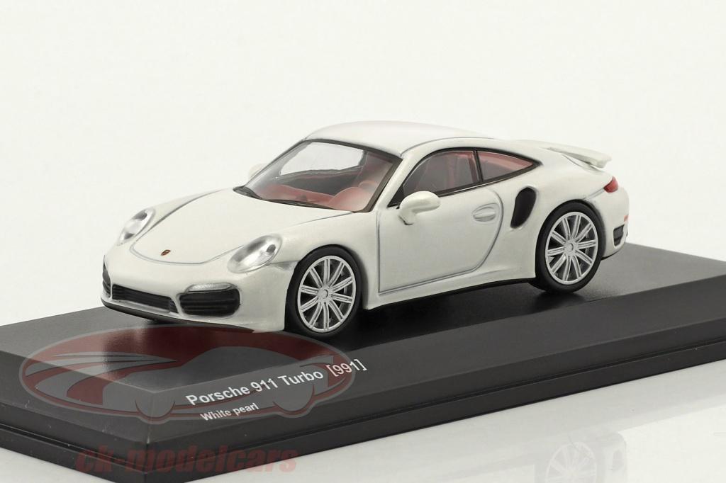 kyosho-1-64-porsche-911-991-turbo-perla-bianco-7048a16/