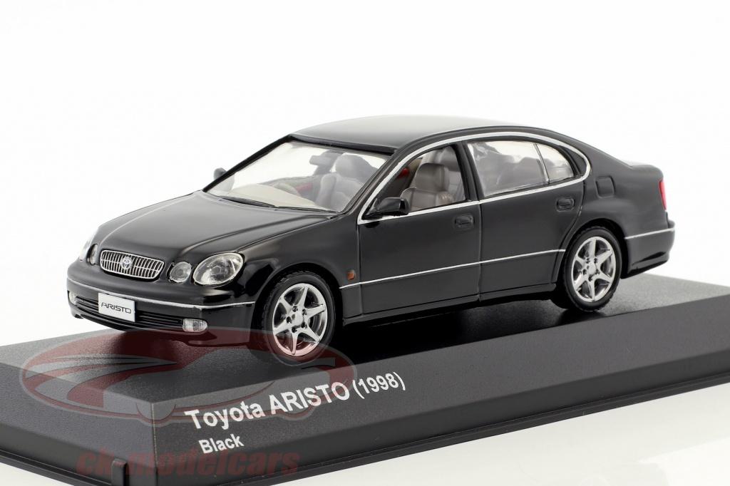 kyosho-1-43-toyota-aristo-year-1998-black-3792bk/