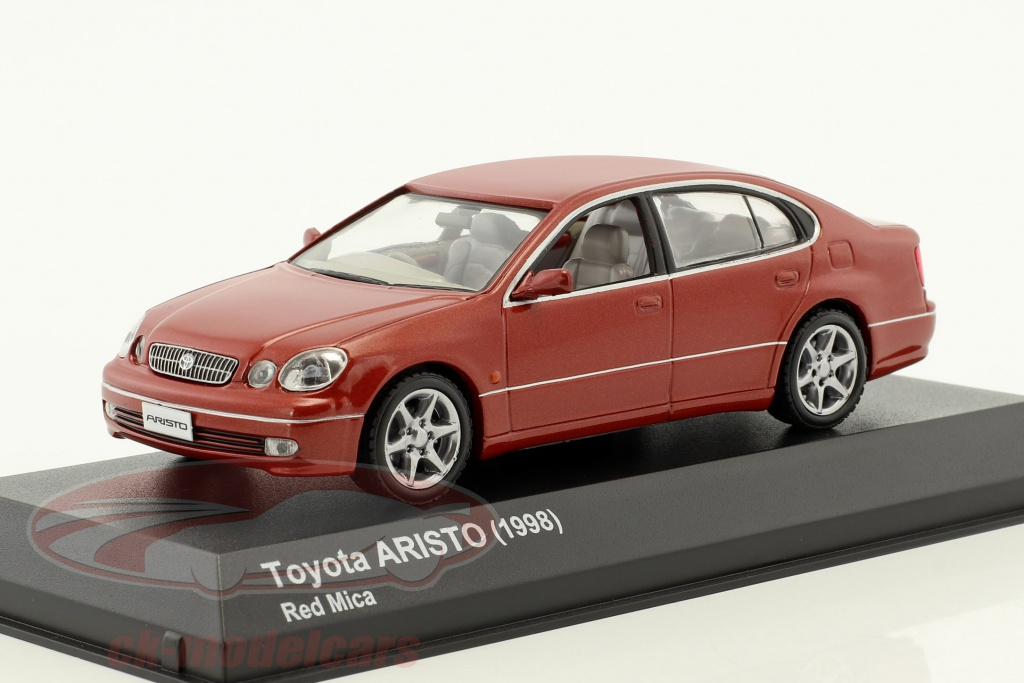 kyosho-1-43-toyota-aristo-annee-de-construction-1998-rouge-3792r/