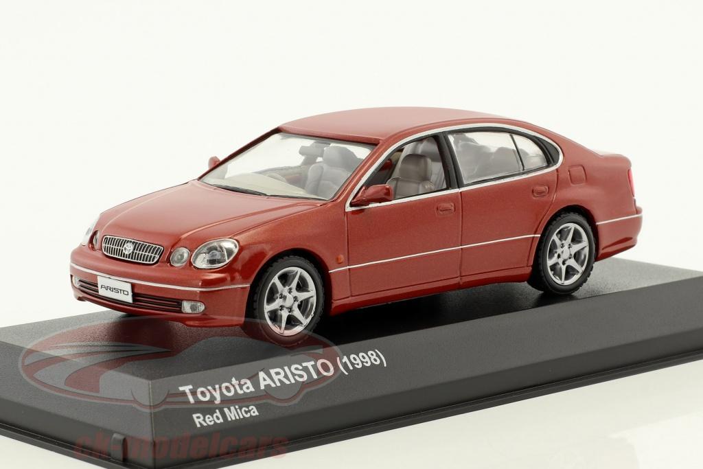 kyosho-1-43-toyota-aristo-anno-di-costruzione-1998-rosso-3792r/