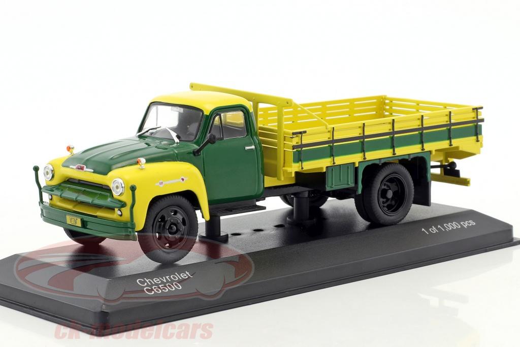 whitebox-1-43-chevrolet-c6500-baujahr-1958-gelb-gruen-wb279t/