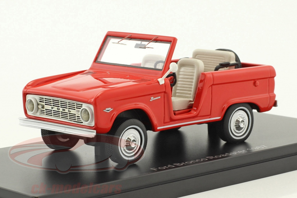 neo-1-43-ford-bronco-roadster-baujahr-1967-rot-neo47210/