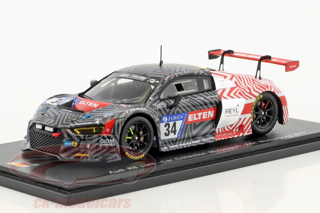 spark-1-43-audi-r8-lms-no34-24h-nuerburgring-2017-car-collection-motorsport-sg303/