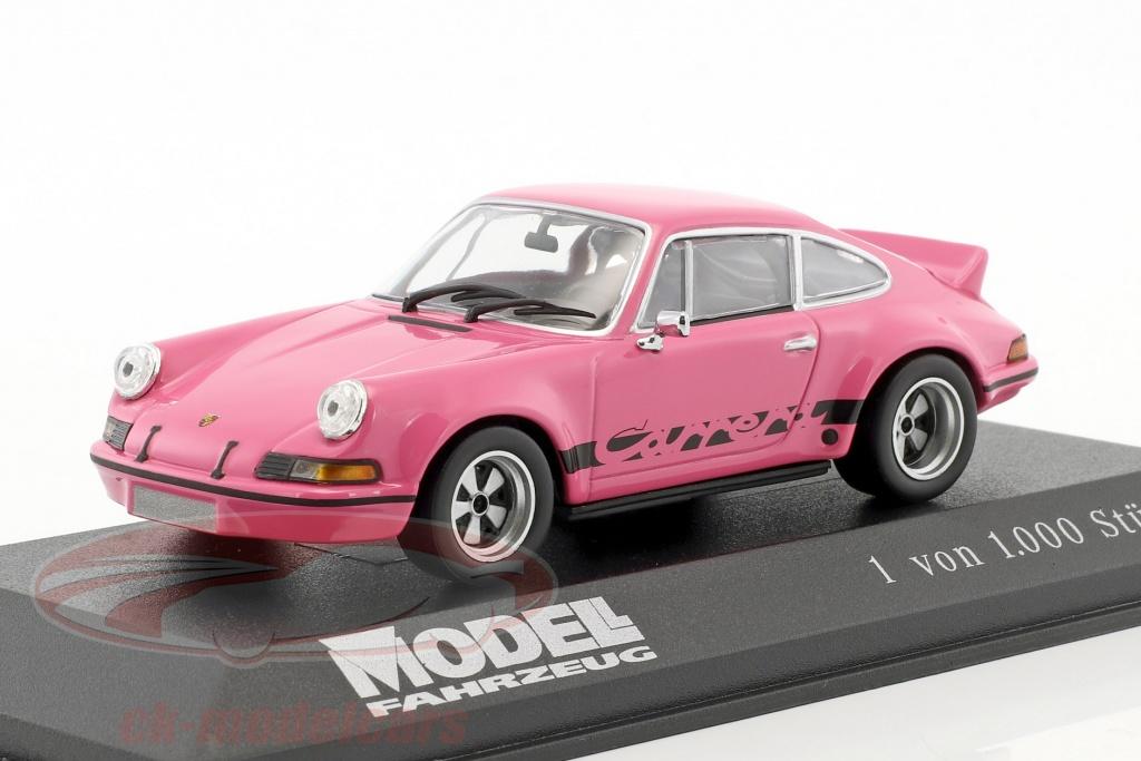 minichamps-1-43-porsche-911-carrera-rsr-28-special-edition-modell-fahrzeug-rosa-ck46729/
