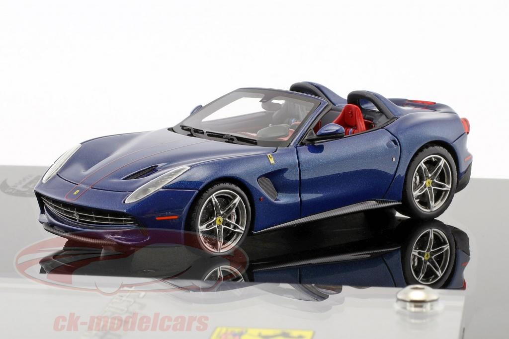 bbr-models-1-43-ferrari-f60-america-annee-de-construction-2014-bleu-fonce-avec-vitrine-bbrc182gco/