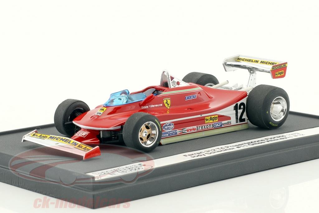 brumm-1-43-jody-scheckter-gilles-villeneuve-ferrari-312-t4-presentation-fiorano-formule-1-1979-s1401/