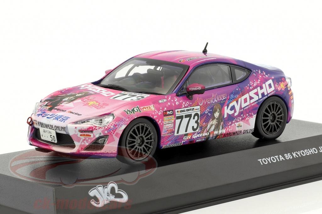 kyosho-1-43-toyota-86-no773-jkb86-year-2014-purple-pink-3634kr14/