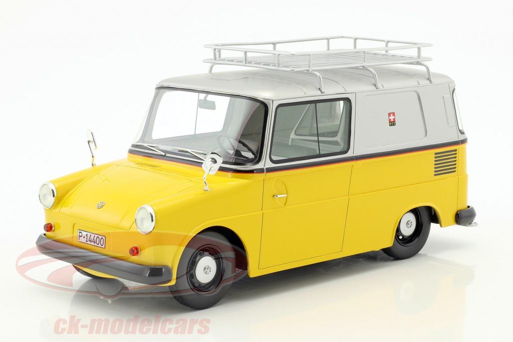 schuco-1-18-volkswagen-vw-fridolin-ptt-jaune-argent-450012300/