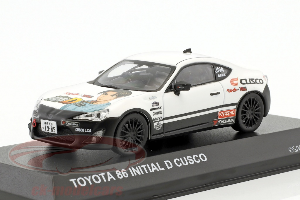 kyosho-1-43-toyota-86-initial-d-cusco-year-1986-white-black-3634c15/