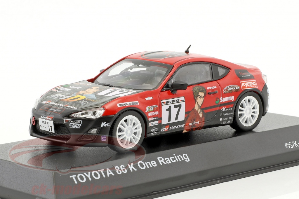 kyosho-1-43-toyota-86-no17-initial-d-k-one-racing-year-1986-red-black-3634k15/