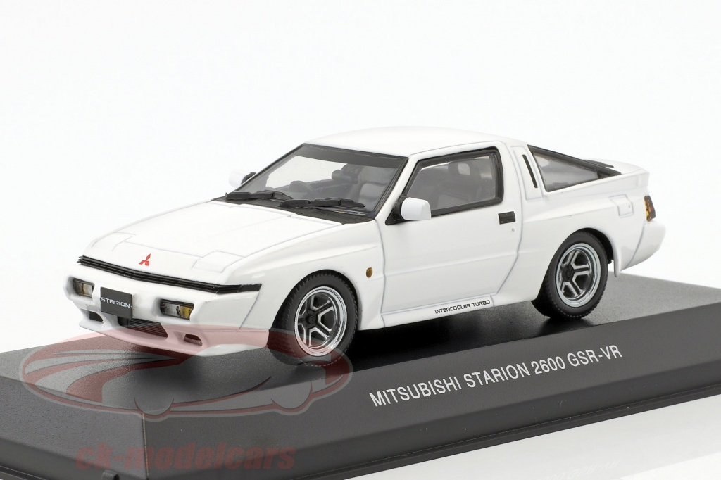 kyosho-1-43-mitsubishi-starion-2600-gsr-vr-annee-de-construction-1988-blanc-3712w/