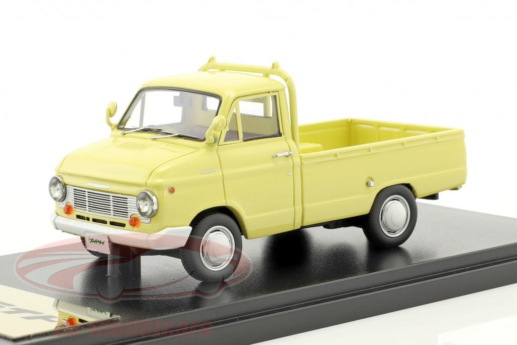kyosho-1-43-nissan-datsun-cablight-truck-giallo-chiaro-kot43101b/