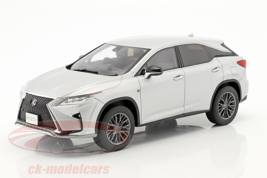 kyosho-1-18-lexus-rx-200t-f-sport-silver-ksr18014s/