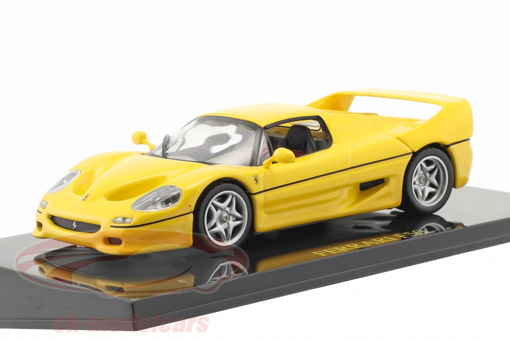 altaya-1-43-ferrari-f50-yellow-with-showcase-ck47176/