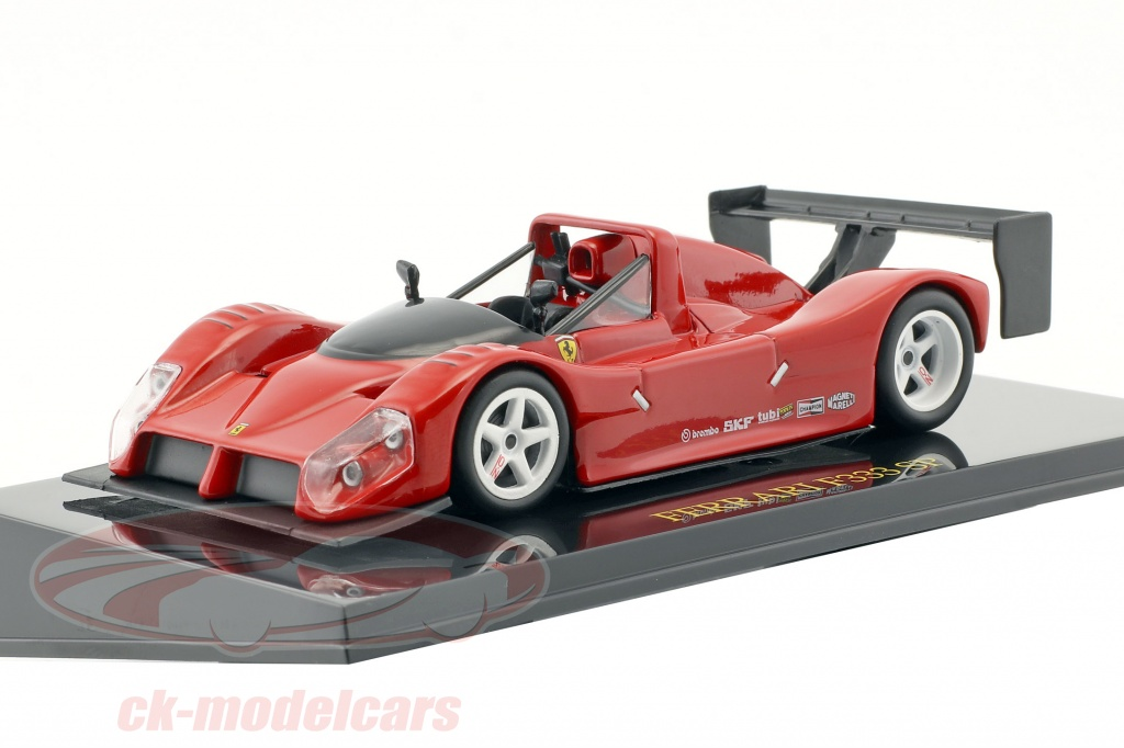 altaya-1-43-ferrari-f333-sp-rouge-plain-body-edition-avec-vitrine-ck47162/
