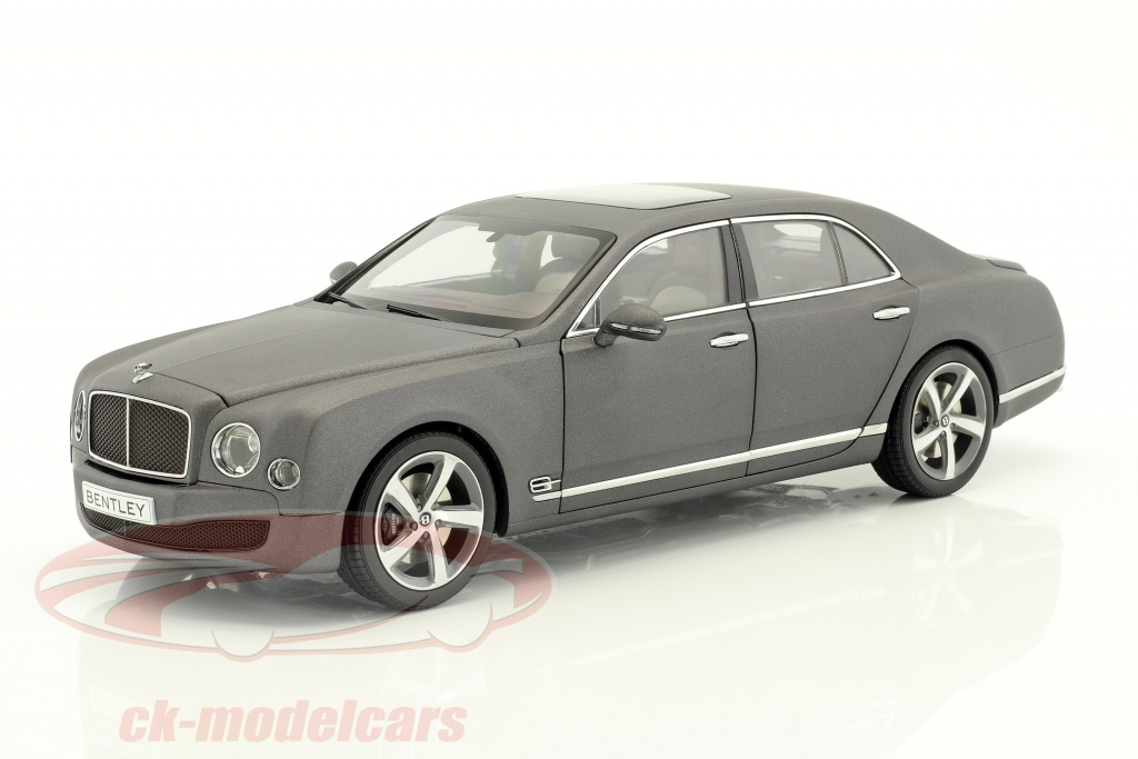 kyosho-1-18-bentley-mulsanne-speed-grigio-scuro-raso-08910dgs/