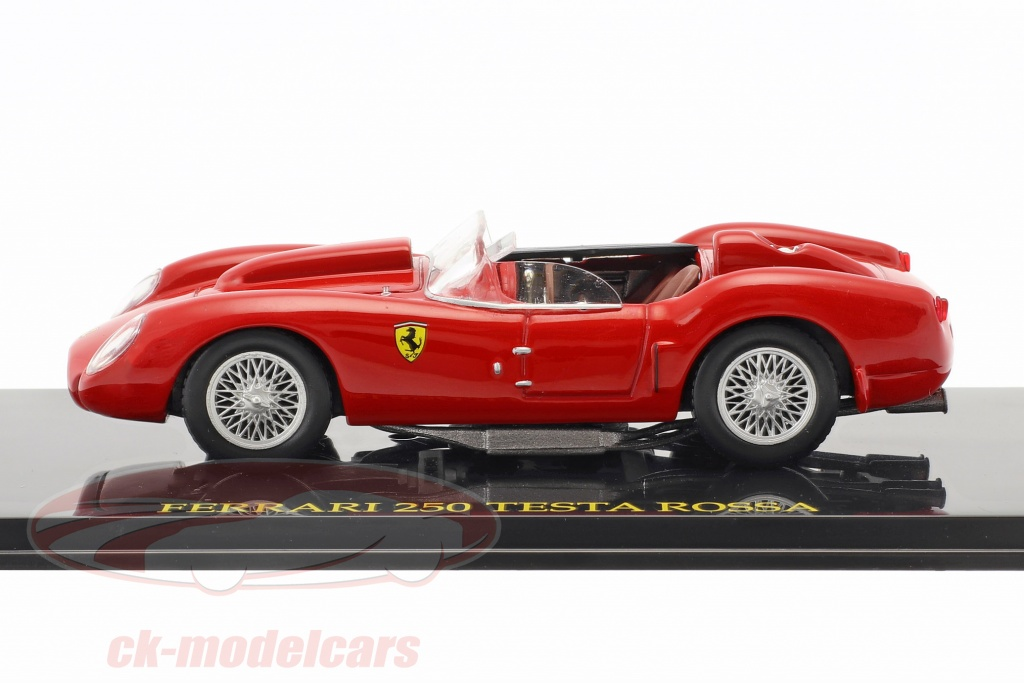 Altaya 1:43 Ferrari 250 Testa Rossa rosso con vetrina CK47117 ...