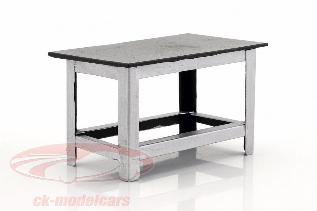 american-diorama-1-18-werkbank-silber-schwarz-ad77519/