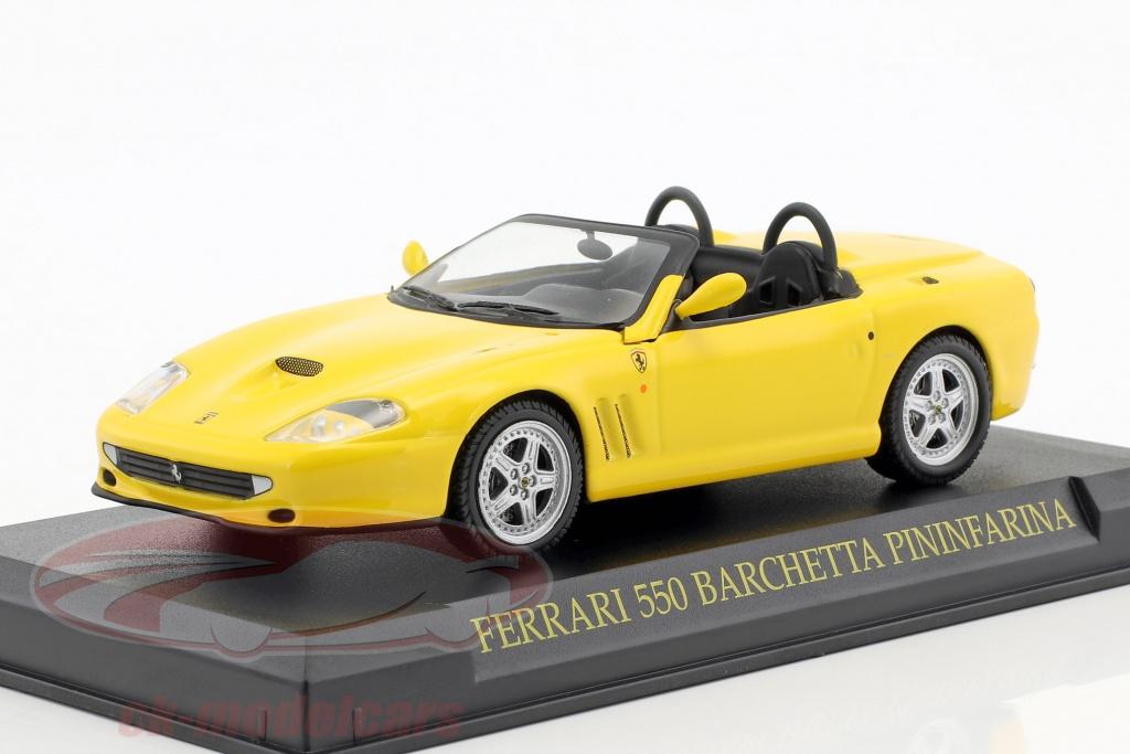 altaya-1-43-ferrari-550-barchetta-pininfarina-yellow-ck46959/