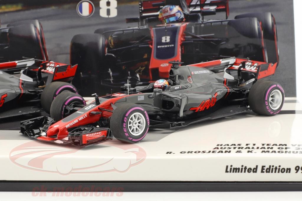 minichamps-1-43-r-grosjean-no8-k-magnussen-no20-2-car-set-haas-vf-17-formula-1-2017-447170820/