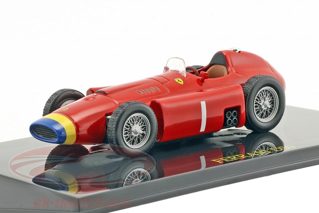 altaya-1-43-juan-manuel-fangio-ferrari-d50-campione-del-mondo-formula-1-1956-con-vetrina-ck47093/