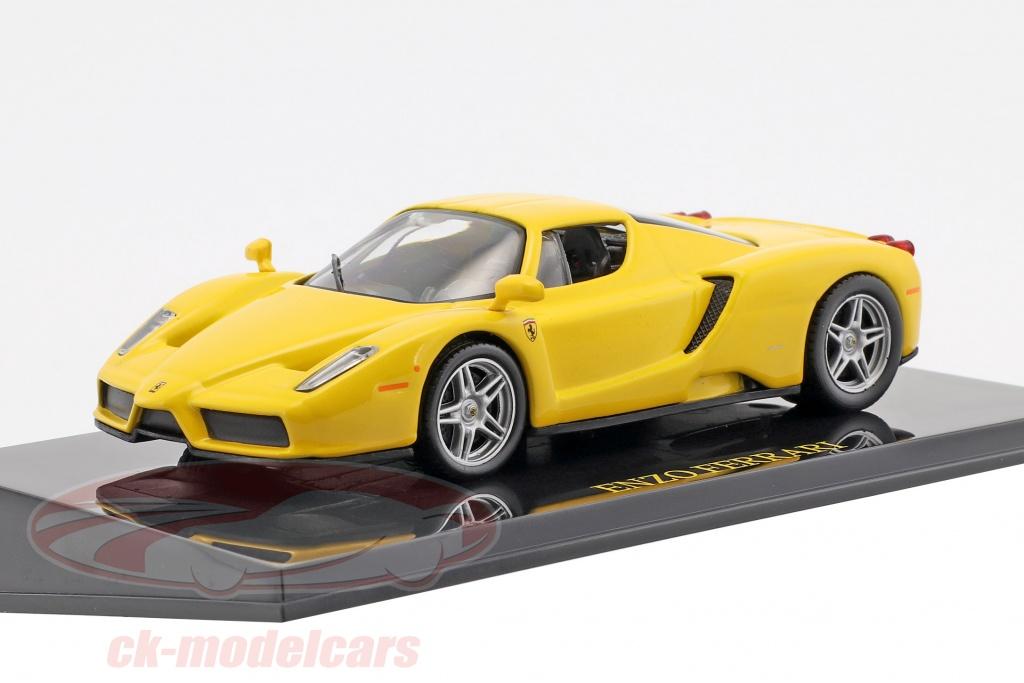 altaya-1-43-ferrari-enzo-yellow-with-showcase-ck47138/