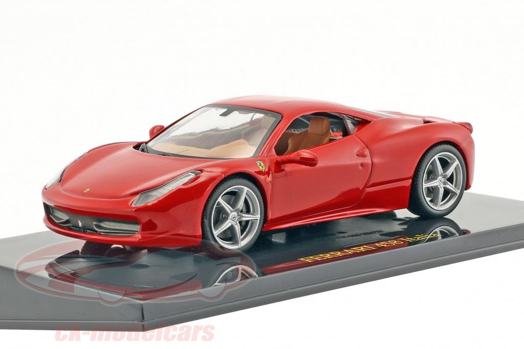 altaya-1-43-ferrari-458-italia-rosso-con-vetrina-ck47136/