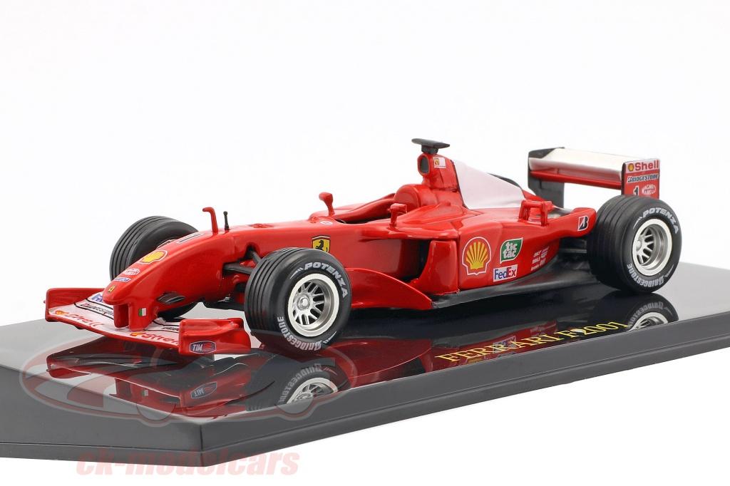 altaya-1-43-m-schumacher-ferrari-f2001-no1-campione-del-mondo-formula-1-2001-con-vetrina-ck47099/