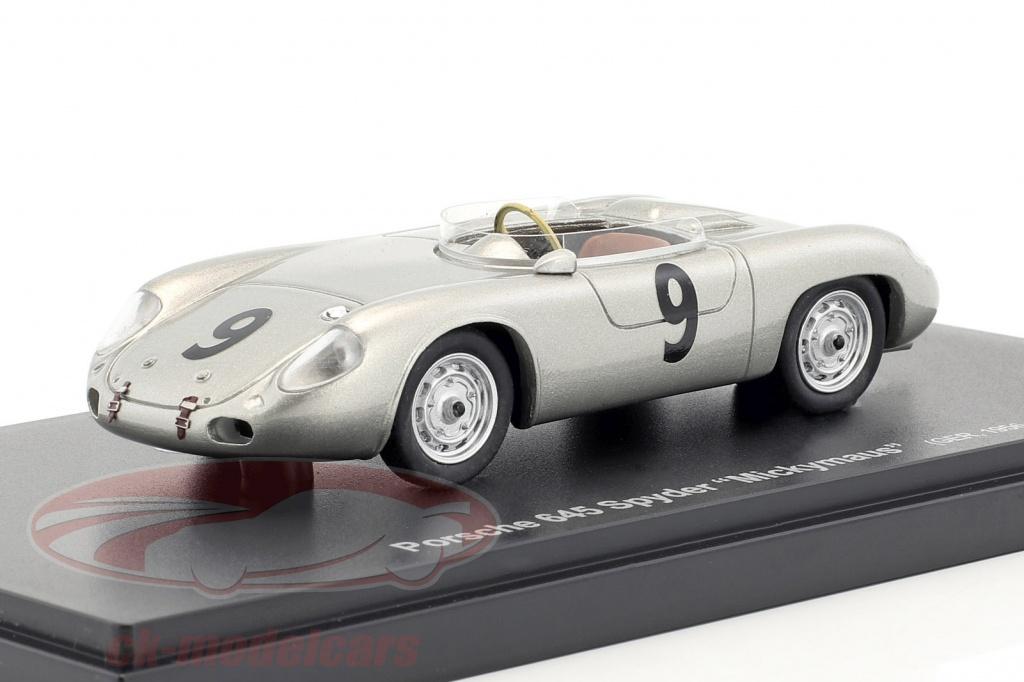 autocult-1-43-porsche-645-spyder-mickymaus-no9-year-1956-silver-60013/