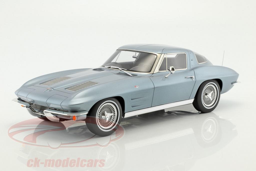 gt-spirit-1-12-chevrolet-corvette-year-1963-silver-blue-metallic-gt183/