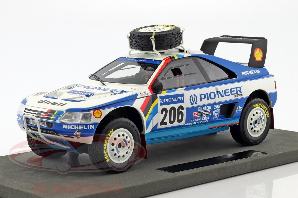 topmarques-1-18-peugeot-405-t16-no206-2nd-rallye-paris-dakar-1989-ickx-tarin-tmpd-03d/