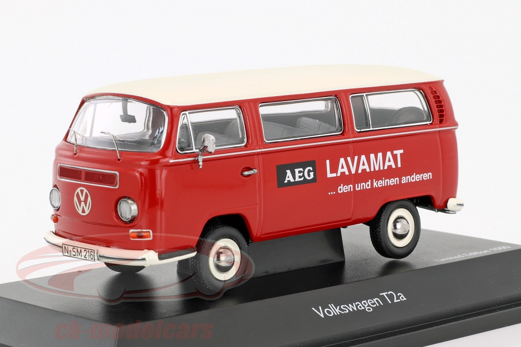 schuco-1-43-volkswagen-vw-t2a-bus-l-luxury-aeg-lavamat-red-white-450334300/