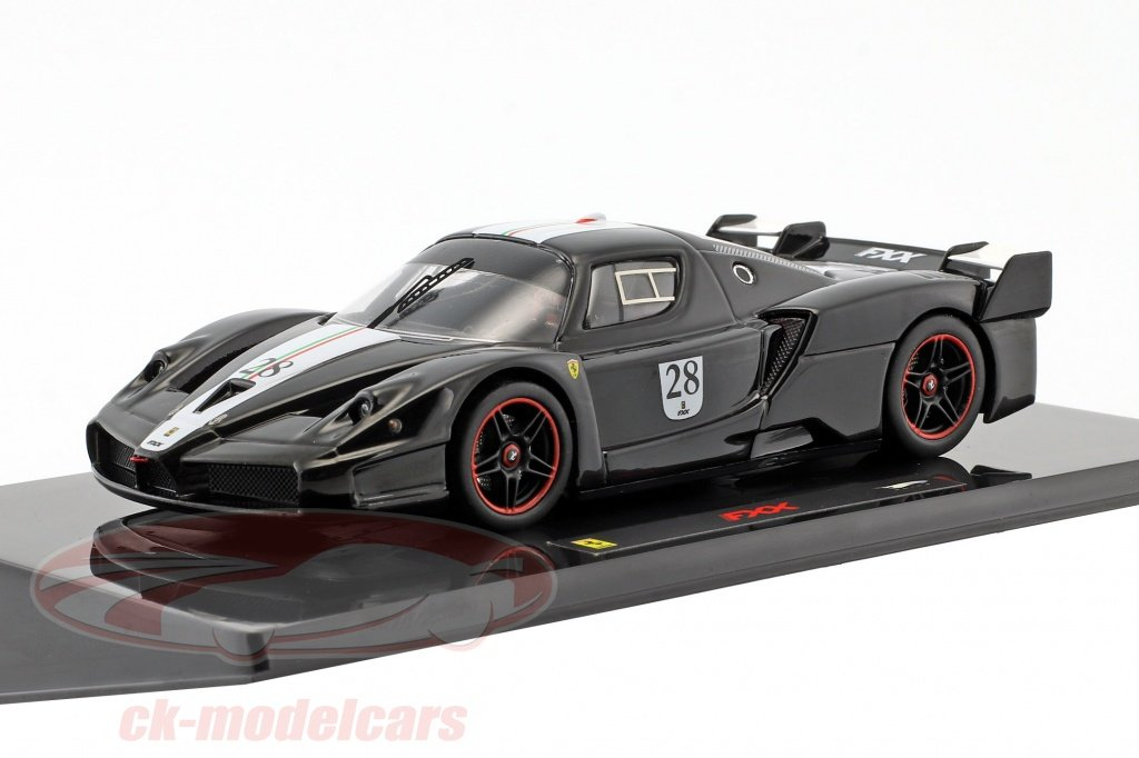 hotwheels-elite-1-43-ferrari-fxx-no28-year-2006-black-with-italian-flag-n5608/