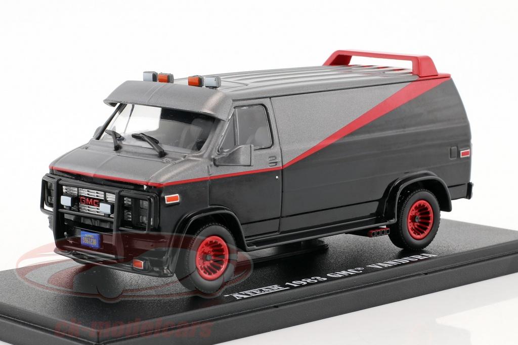 greenlight-1-43-bas-gmc-vandura-baujahr-1983-tv-serie-das-a-team-1983-87-schwarz-rot-grau-86515/