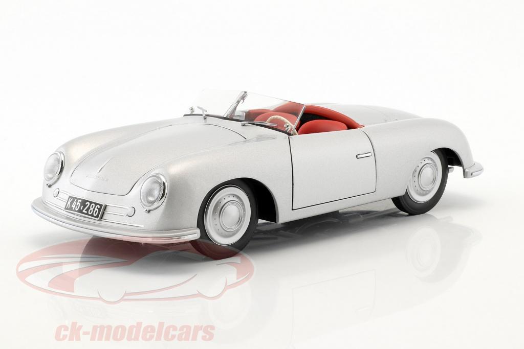 autoart-1-18-porsche-356-nummer-1-bouwjaar-1948-zilver-78072/