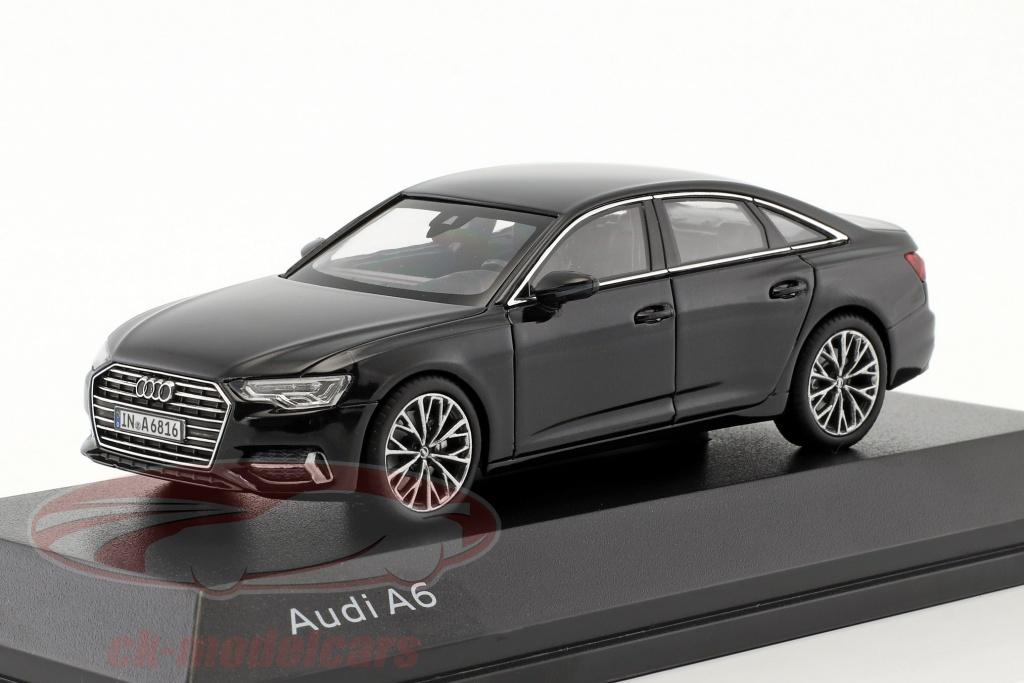 iscale-1-43-audi-a6-c8-sedan-myte-sort-5011806132/