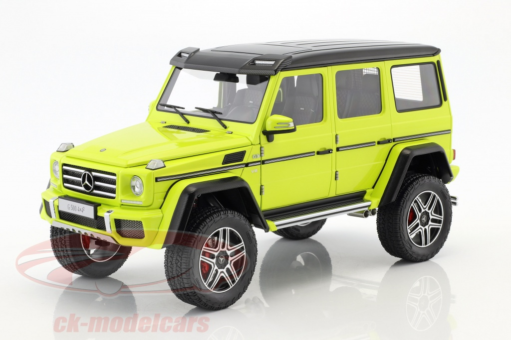 autoart-1-18-mercedes-benz-g-klasse-g500-4x4-year-2016-yellow-76319/